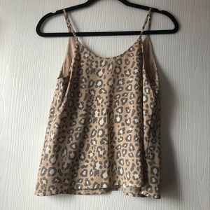 a new day Tops - NEW Leopard Dressy Tank Top